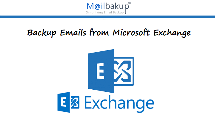 Backup Emails from Microsoft Exchange