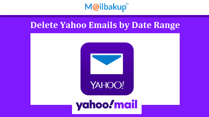 delete yahoo emails by date range