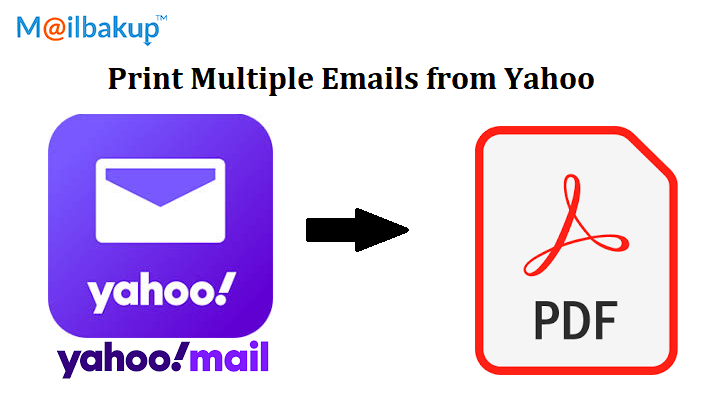 print multiple emails from yahoo