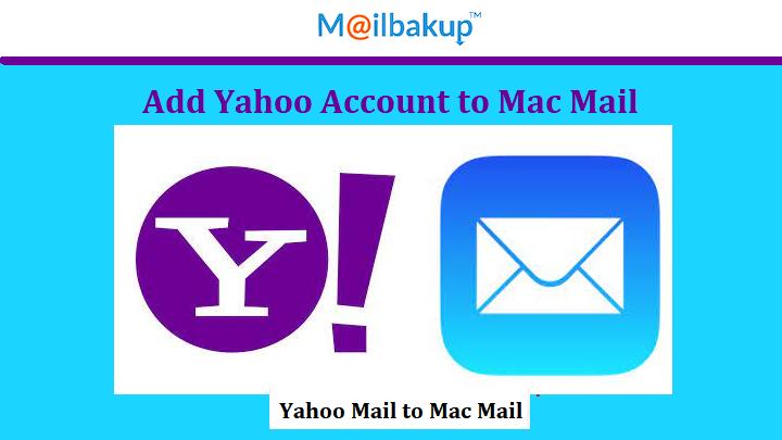 add yahoo account to mac mail