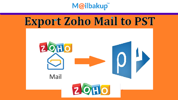export zoho mail to pst