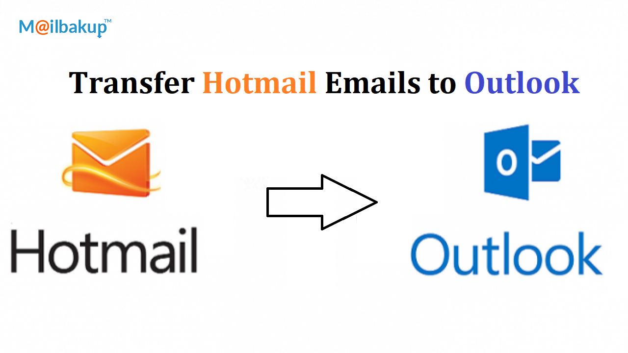 transfer hotmail emails to outlook